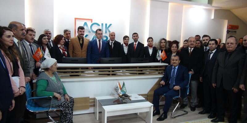Tunceli'de 'Açık Kapı Projesi' hizmete girdi