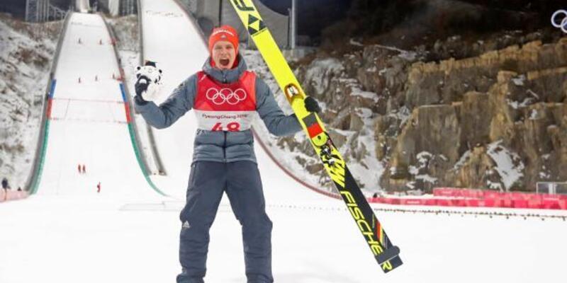 Altın çocuk Wellinger 22 yaşında ikinci kez Olimpiyat şampiyonu