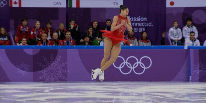 Mirai Nagasu olimpiyatlarda triple axel yapabilen üçüncü kadın sporcu oldu