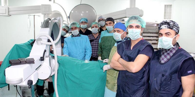 Niğde'de ilk kez lazerle bel fıtığı ameliyatı yapıldı