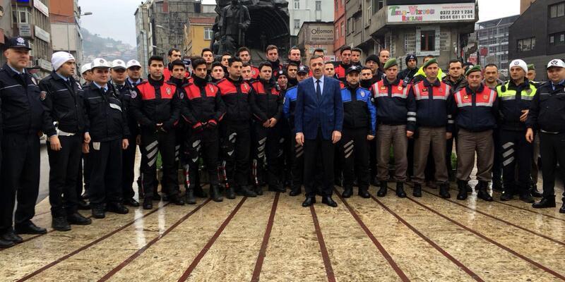 Zonguldak'ta hatalı park edilen araçlara ceza