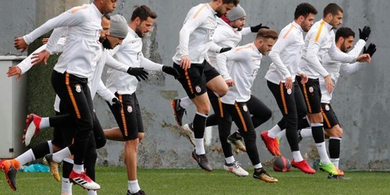 Galatasaray ara vermeden Kasımpaşa maçı hazırlıklarına başladı
