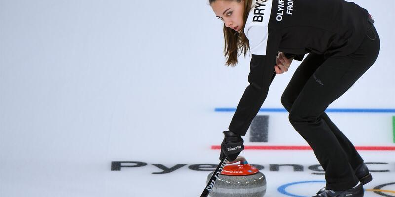 Curling'de 'Angelina Jolie' ve kocası üçüncü oldu