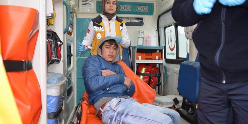 Donmak üzere olan 4 kişi son anda kurtarıldı