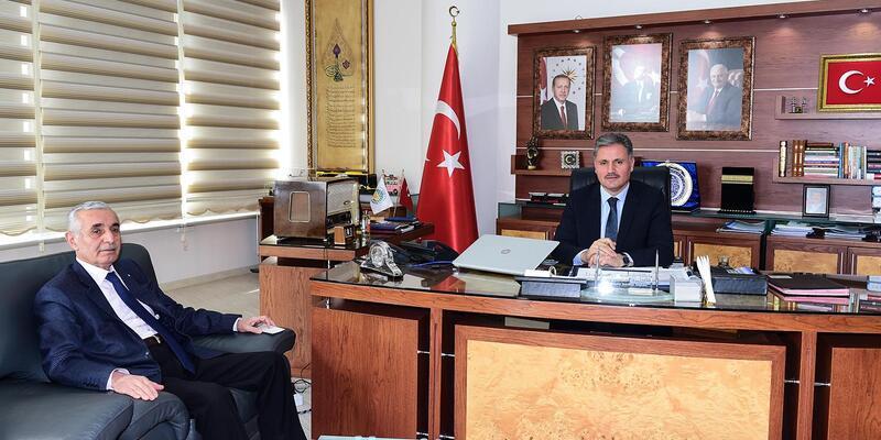 Başkan Evren'den, Başkan Çakır'a ziyaret