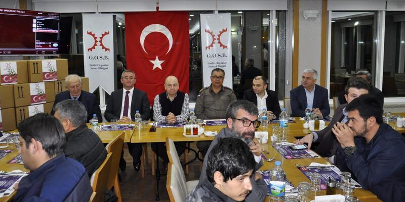 Gedizli sanayicilerden Mehmetçiğe destek toplantısı
