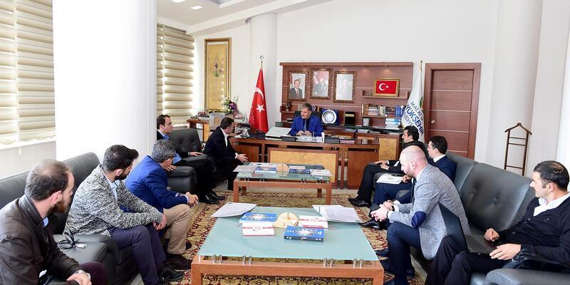 Okçular Vakfı'ndan, Başkan Çakır'a ziyaret