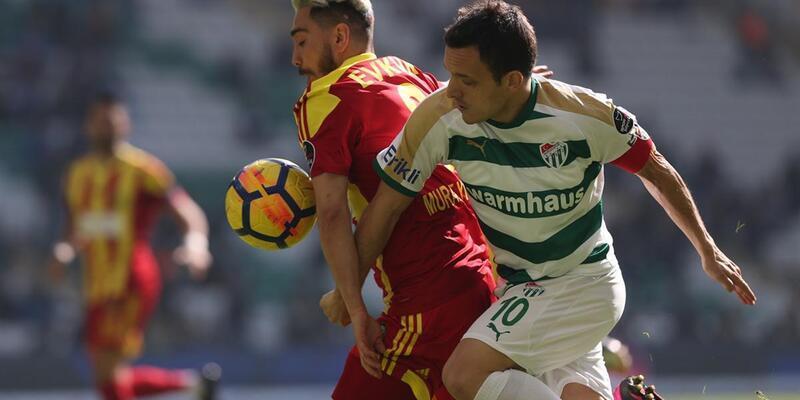 Bursaspor 0-0 Yeni Malatyaspor / Maç Özeti