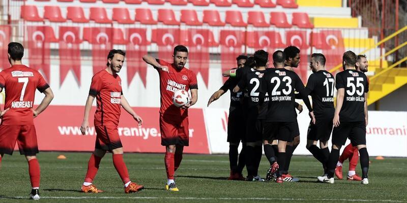 Ümraniyespor 0-1 Eskişehirspor / Maç sonucu