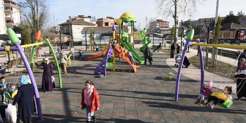 Tekkeköy'de yeşil alan ve park sayısının artırılmasına hız verildi
