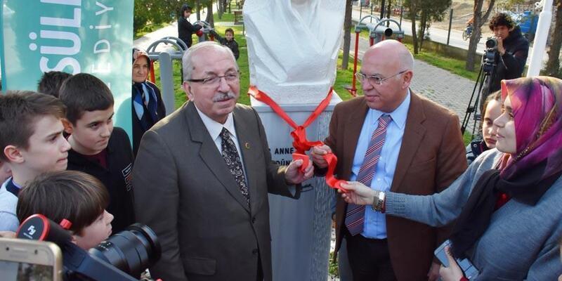 Tekirdağ'da Zübeyde Hanım Parkı ve Anıtı açıldı