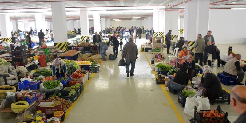 Bozyazı'ya modern pazar yeri