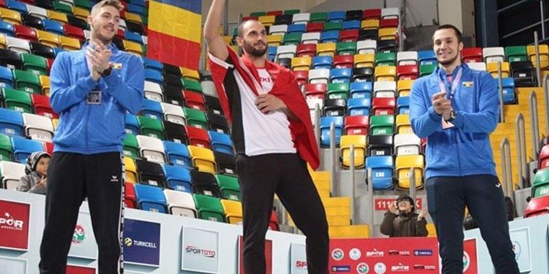 İki kez kanseri yenen Batuhan Eruygun Balkan şampiyonu oldu