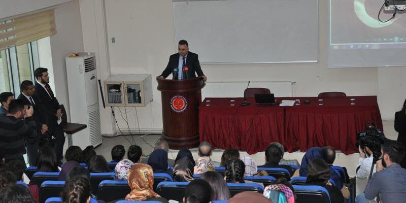 AYM Başkanvekili Yıldırım'dan hukuk fakültesinde konferans