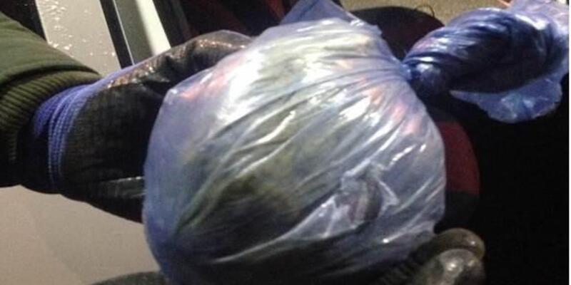 Muş'ta 468 gram esrar yakalandı