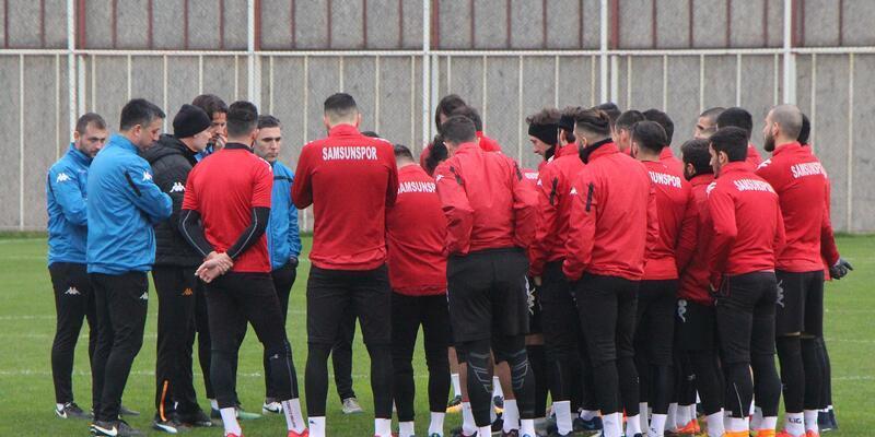 Samsunspor, Balıkesir Baltok maçı hazırlıklarına başladı
