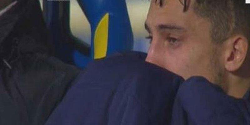 Alex Telles'in gözyaşları