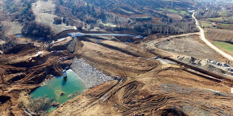 Karaboyalık Göleti 10 ay sonra tamamlanacak