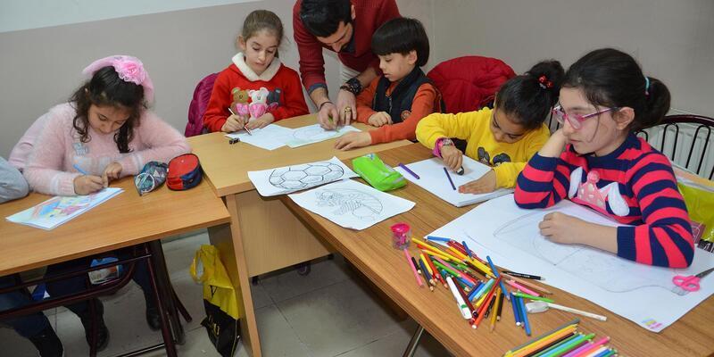 Malatya'da resim kurslarına ilgi