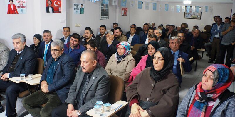 Sarıgöl İYİ Parti'de Aktan başkan seçildi