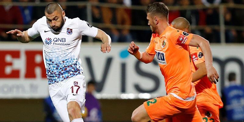 Trabzonspor maçı kazandı Burak'ı kaybetti