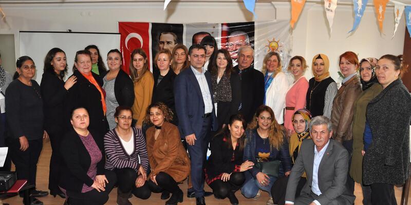 AK Parti Datça İlçe Kadın Kolları'nda Çelik dönemi başladı