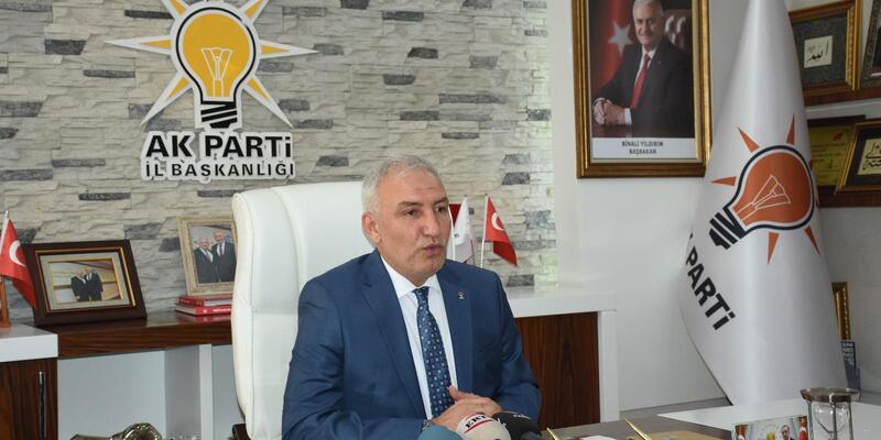 AK Partili Kahtalı'dan kongre teşekkürü