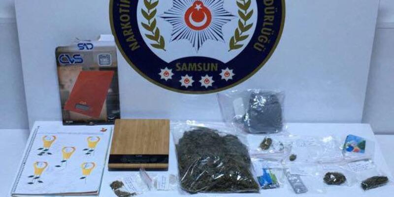 Samsun'da uyuşturucu operasyonunda 1 tutuklama