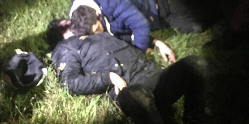Cezaevi firarileri uyurken yakaladı