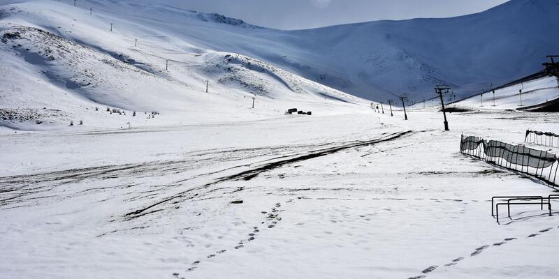 Van'ın kayak merkezi sezonu açamadı