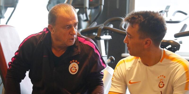 Galatasaray kuvvet çalışması yaptı