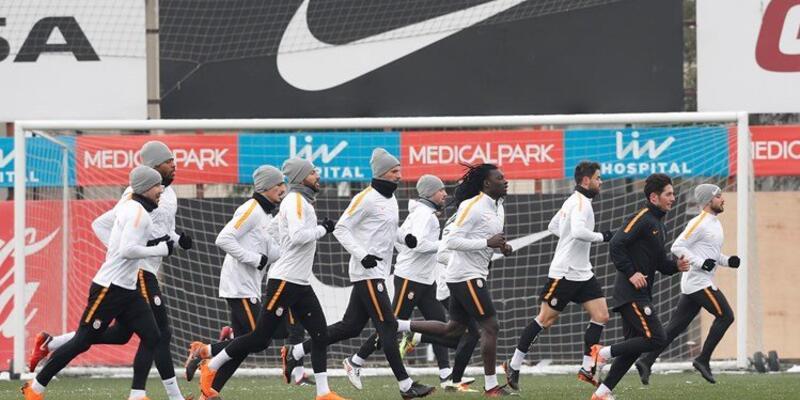Galatasaray Karabükspor maçına hazırlanıyor