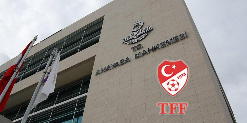 AYM, TFF kararlarına yargı yolunu kapatan düzenlemeyi iptal etti