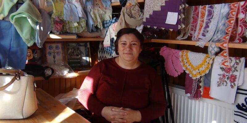 Simav'dan engellilerin ev ekonomisine destek