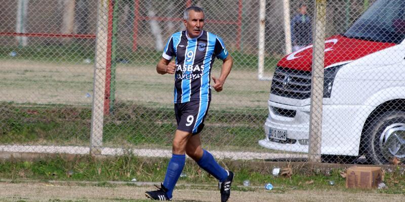 69 yaşındaki futbolcu Osmaniye'de ki ilk maçına çıktı
