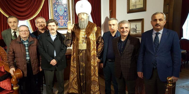 Kanuni Sultan Süleyman'ın doğduğu Trabzon'da Prof. Dr. Şengör'e tepki