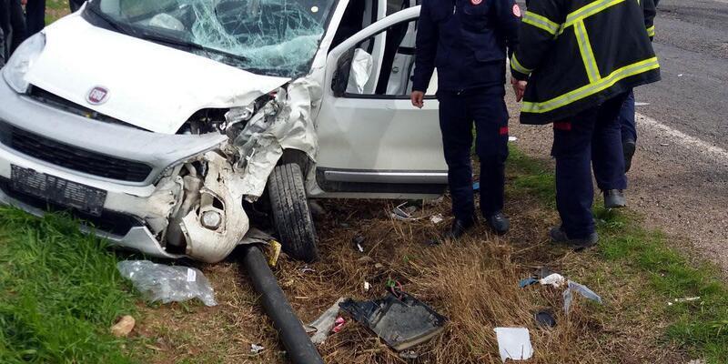 Mardin'deki kazada, 3 yaşındaki çocuk öldü, 7 kişi yaralandı