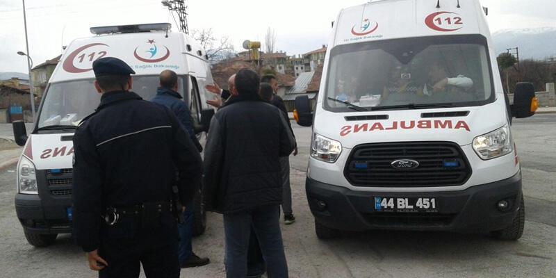 Rahatsızlık geçiren antrenör, polis aracıyla hastaneye kaldırıldı