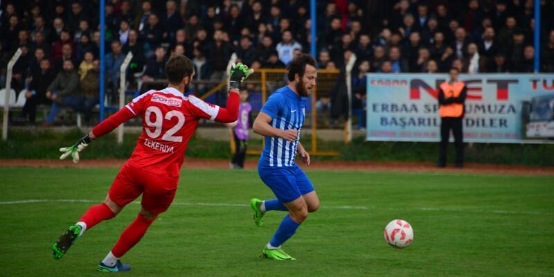 Erbaaspor - Kozan Belediyespor: 3-1
