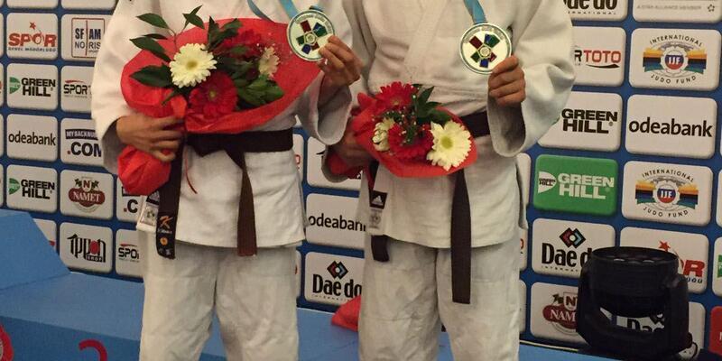 Salihlili milli judoculardan üç madalya