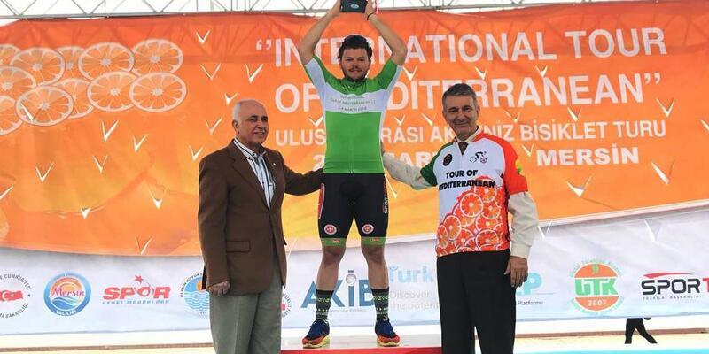 Akdeniz Bisiklet Turu'nda zafer Torku Şekerspor'un