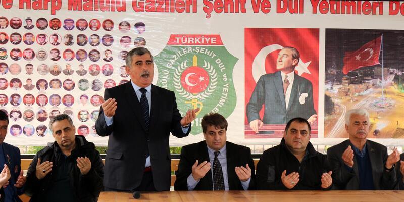 Şehit aileleri ve gaziler Mehmetçik'e destek için sınıra gidiyor