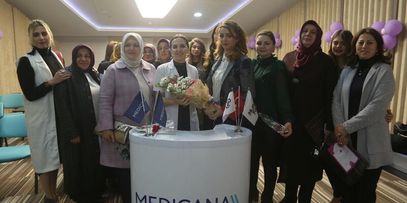 Hastanede Kadınlar Günü etkinliği