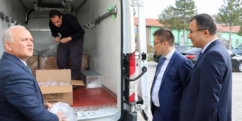 Niğde'den Afrin'deki Mehmetçiklere 5 bin paket et kavurma