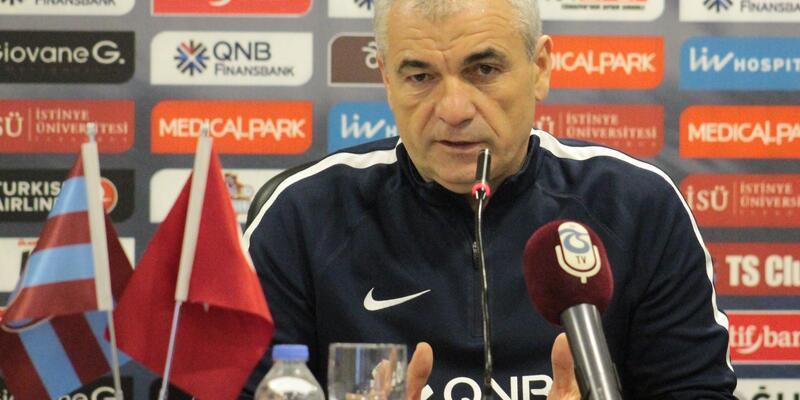 """Trabzonspor Teknik Direktörü Çalımbay: """"Avrupa şansımız çok yüksek"""""""