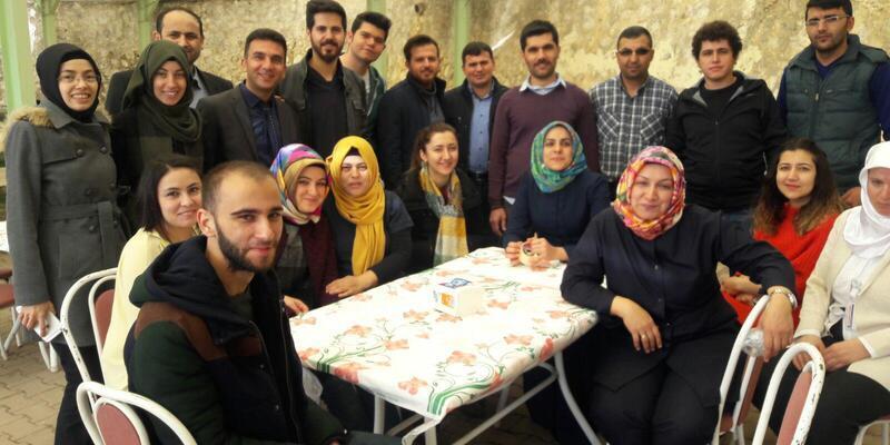 Hadim'de hastane çalışanları 'Zeytin Dalı Harekatı' için kermes düzenledi
