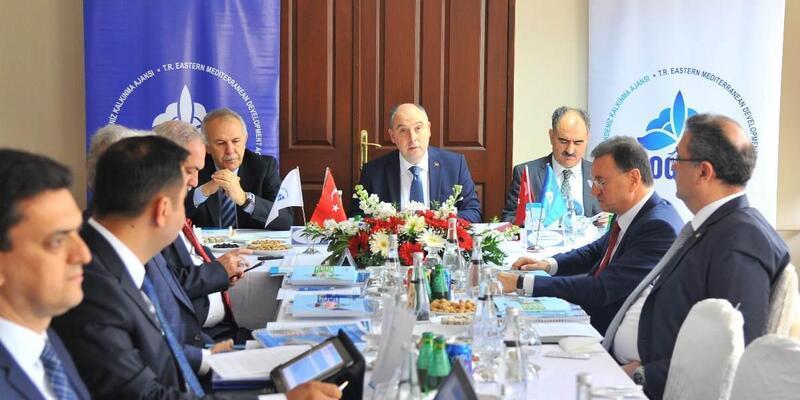 DOĞAKA Yönetim Kurulu toplantısı Osmaniye'de yapıldı