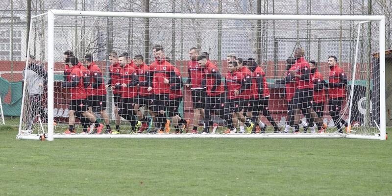 Gençlerbirliği Beşiktaş maçına 5 eksikle çalıştı