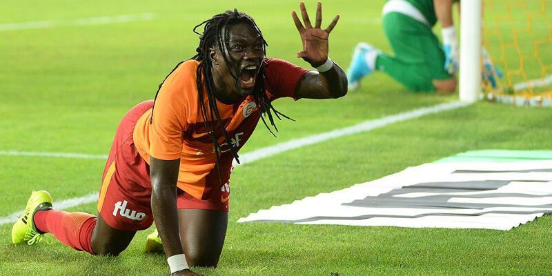 Gomis Galatasaray'da iz bıraktı
