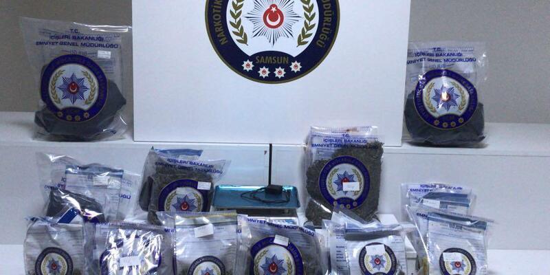 Samsun'da uyuşturucu operasyonunda gözaltı sayısı 15'e çıktı